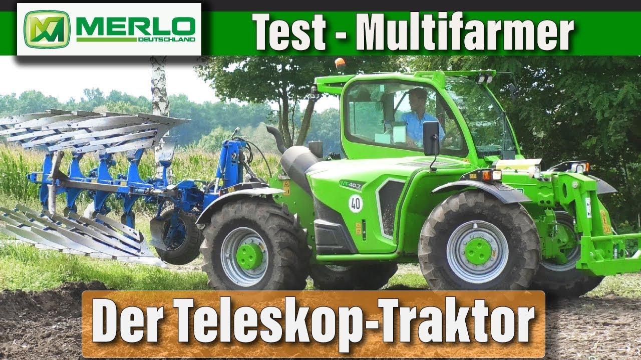 Test: Wie viel Traktor steckt im Multifarmer?