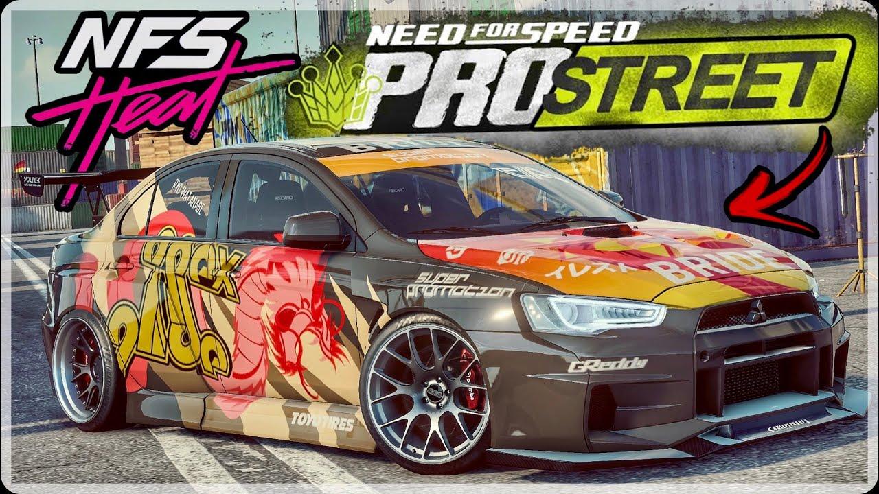 Need For Speed Heat Lancer Evo X Ryo Watanabe Nfs Prostreet Best Build Race Youtube