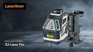 Kreuzlinien-Laser - Innovation - X2-Laser Pro - 031.550L