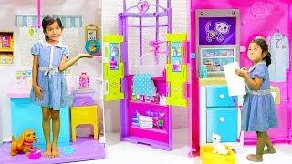 提供:Barbie バービー 女の子の憧れのバービーとペットケアセンターで...