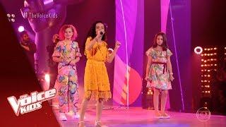 Ana Julia Poletto, Anais Waucampt e Analu Sampaio cantam Garota de Ipanema nas Batalhas - TVK YouTube Videos