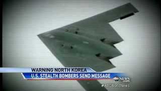 U.S. Stealth B-2 Bombers enter Korea Airspace