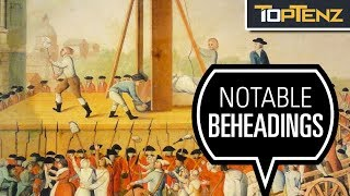 Top 10 Infamous Guillotine Executions