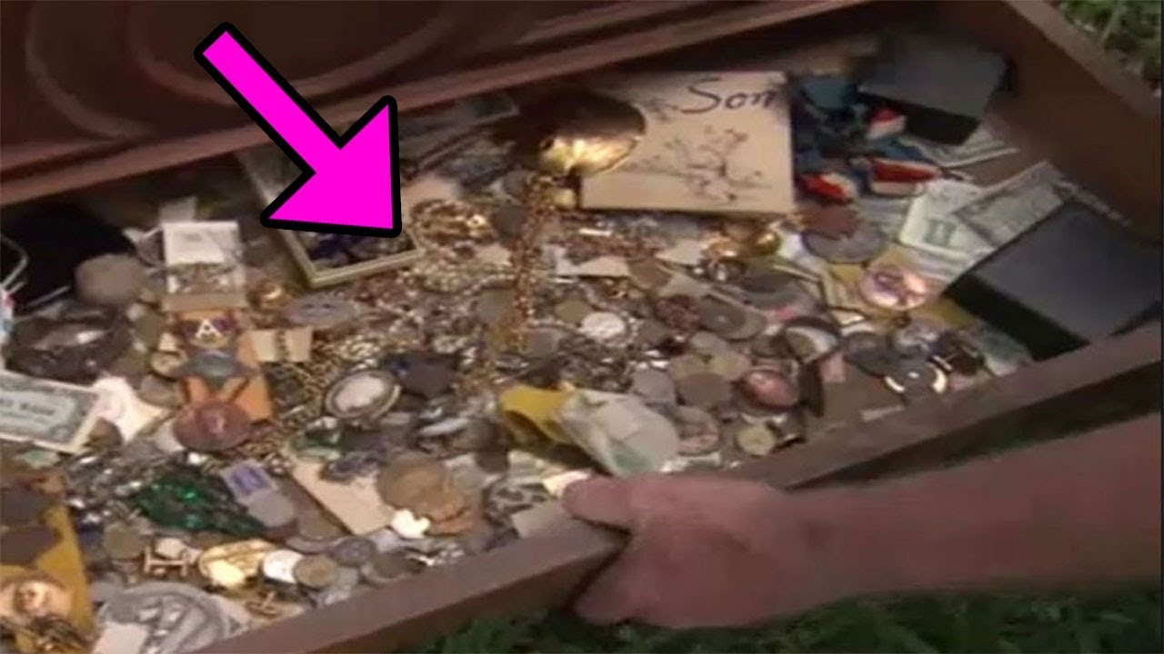 Man Who Buys A Dresser For 100 Finds A Secret Drawer With