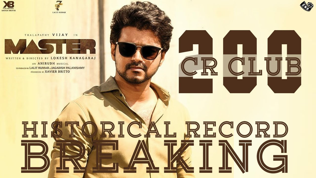 Master Box Office Records – Vijay Movie Join Top Collection List   200 Cr Movie List   Lokesh
