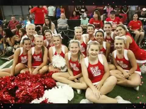 West Blocton High School 2016-17 Cheerleaders Hilite Video