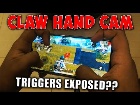 4 FINGERS Claw Hand Cam (HINDI) | PUBG MOBILE HAND CAM TIPS AND TRICKS