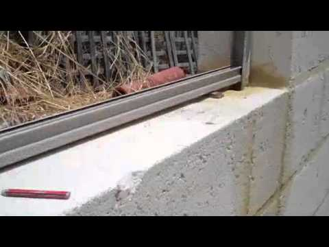 Colorbond On Limestone Retaining Wall Youtube