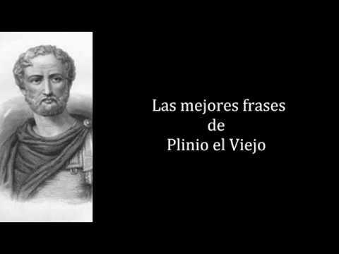 Frases Célebres de Plinio el Viejo