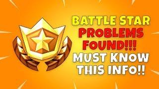 PROBLEM FOUND with Fortnite SECRET BATTLE STARS - Fortnite Season 4 Challenges