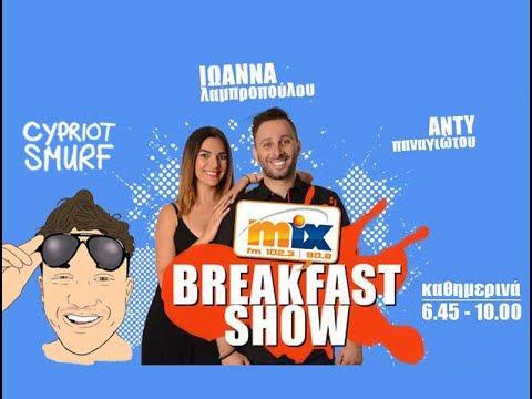 My First Radio Interview on MixFM Breakfast Show