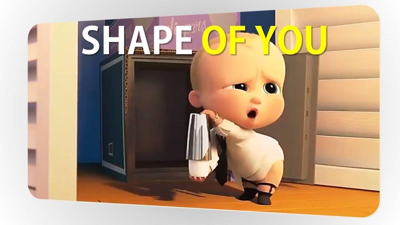 The Boss Baby Music Video Ed Sheeran Shape Of You