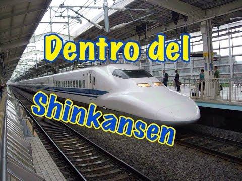[Japan]#51 El interior del Shinkansen - tren bala - 新幹線