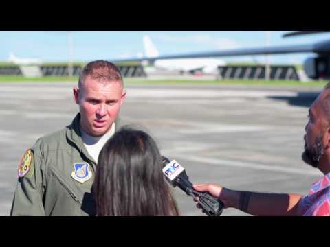 """US """"Ready To Fight Tonight"""" In Guam"""