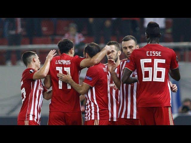 Highlights: Ολυμπιακός - Ντούντελανζ 5-1 / Highlights: Olympiacos - Dudelange 5-1
