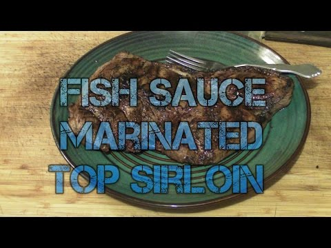Fish Sauce Marinated Top Sirloin Steak Infrared Grilled