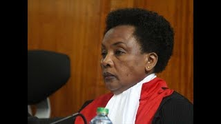 DCJ Mwilu to know fate today, she faces 13 counts of abuse of office allegations