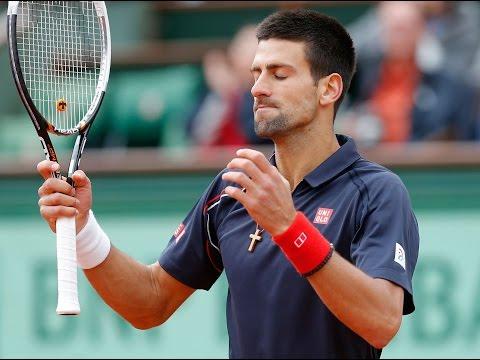 Novak Djokovic ANGRY