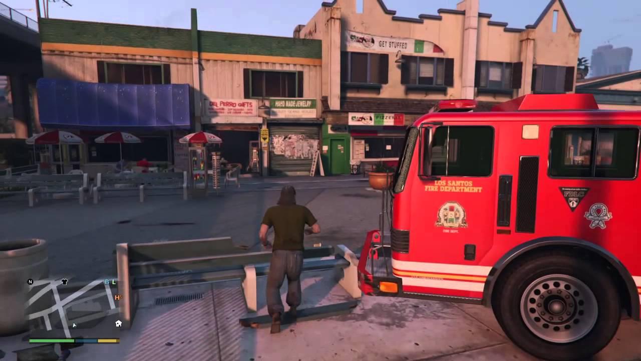 911 fireman hustler stealing