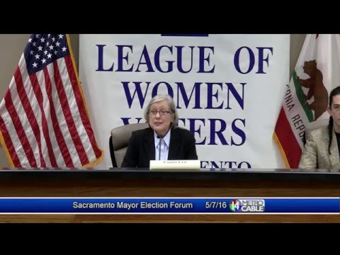 Election Forum: Sacramento Mayor
