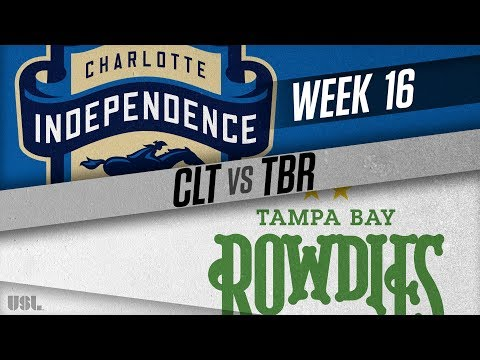 Charlotte Independence vs Tampa Bay Rowdies: June 27, 2018
