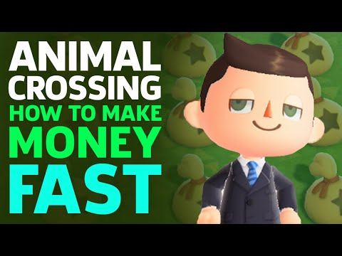 Make Money FAST In Animal Crossing: New Horizons
