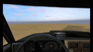 Rigs of Rods [gameplay PC] - Burnside Drag. Crash 1