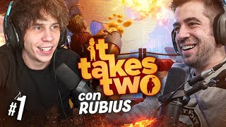 IT TAKES TWO ft Rubius #1