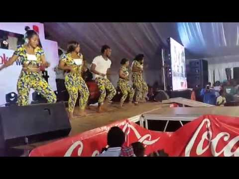 Tanzanians perform at the Culture week 2015,United States International University - Africa