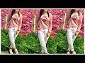 Collage/Office wear Top And Tunic Dresses with Jeans Designs For Girls /trandy top design 2018
