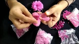 TUTORIAL   Peluang Bisnis Menarik   Cara Membuat Bunga dari Manik manik