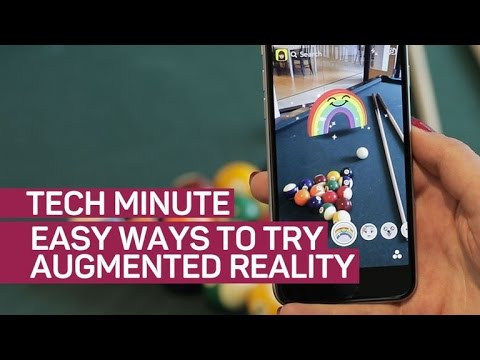 Easy ways to try augmented reality