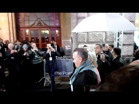 'The Post' premiere in Milan: Red carpet with Meryl Streep, Tom Hanks