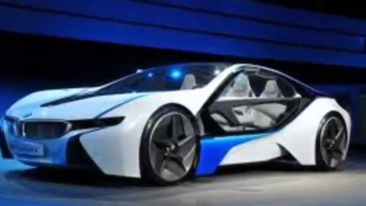 New Bmw I8 Concept Car Youtube