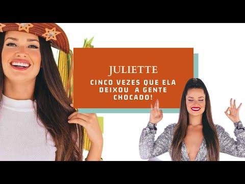 Cinco vezes que Juliette Freire deixou a gente chocado!