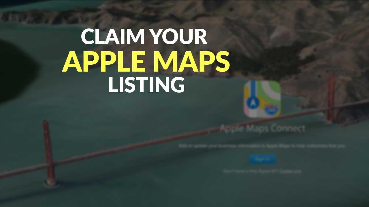 How to Claim and Optimize Your Apple Maps Listing (Updated) Default Map App Iphone on