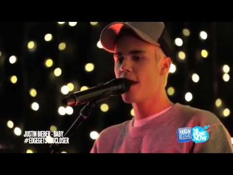 Justin Bieber Baby Intimate and acoustic - Youtube Music Video