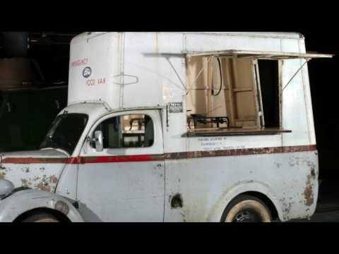 Fordson Emergency Food Van No. 1 Unveiling