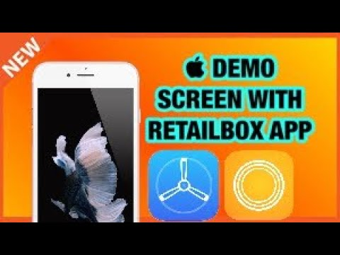 HOW TO GET APPLE STORE DEMO WALLPAPERS ON ANY IDEVICE