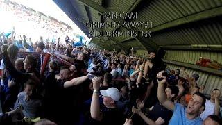 grimsby away fan cam   grimsby town vs kidderminster   gtfc 1
