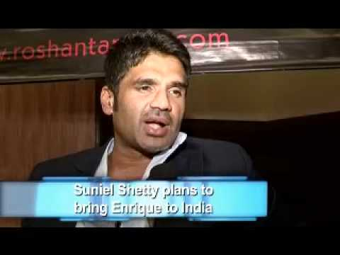 Download Suniel Shetty plans to bring Enrique to India