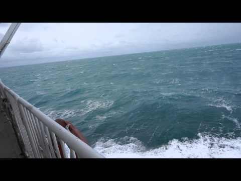 Storm at The Cook Strait