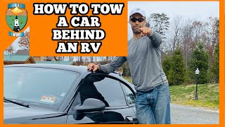 How To Tow A Car Behind An RV or Motorhome Video
