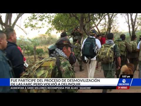 PERFIL: 'Guacho', de pequeño comerciante a sanguinario disidente de Farc
