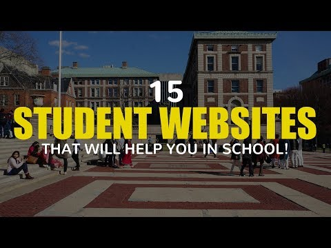 15 Student Websites That Will Help You in School!