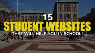 15 Useful STUDENT WEBSITES That Will Help You in School! (Part 1)
