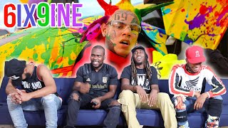 6IX9INE- TUTU (Official Music Video) Reaction/Review