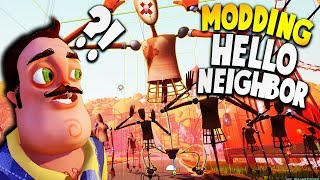 WE CAN MOD HELLO NEIGHBOR NOW?! THIS UPDATE IS AMAZING! | Hello Neighbor Modding Update Gameplay