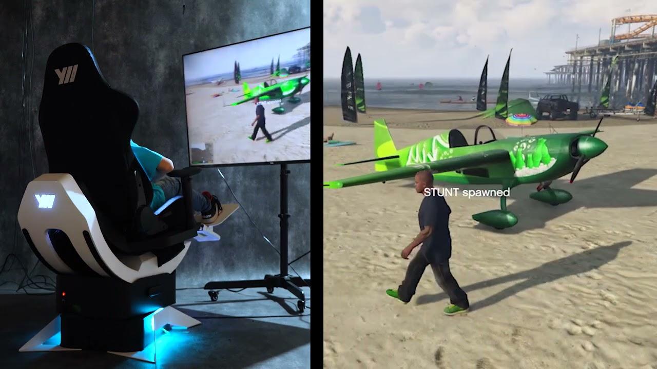 Crash test with GTA V and Yaw2