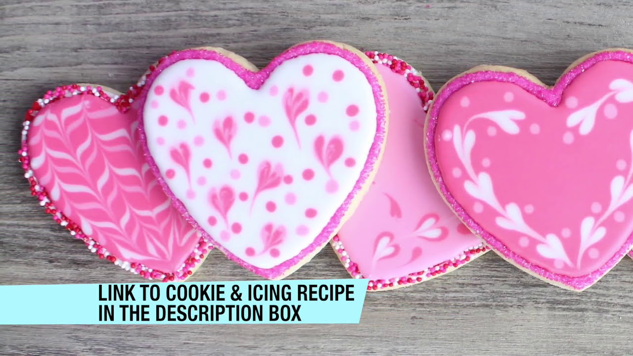 How To Decorate Cookies For Valentine S Day Easy Valentine S Day